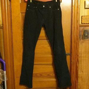 Levi's Black Corduroy Jeans